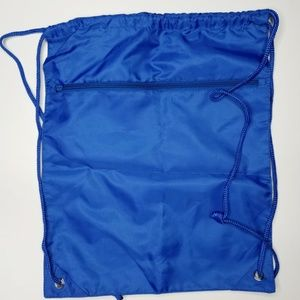 Handbags - 💄Price Firm💄Nwt blue drawstring backpack